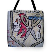 Mixed-media Mobb Tote Bag