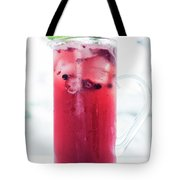 Mixed Red Berries And Wine Sangria Cocktail Jug Tote Bag