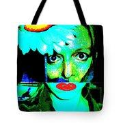 Mixed Up Girl Tote Bag