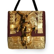 Mixtec: God Of The Dead Tote Bag
