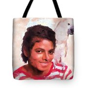 Mj And Polly Tote Bag