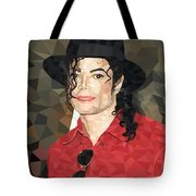 Mj Low Poly Tote Bag