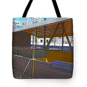 Mv  Krait In Darling Harbour Sydney Tote Bag