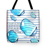 Mlk Love Note Tote Bag