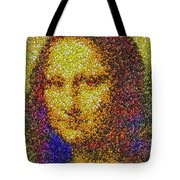 Mm Candies Mona Lisa Tote Bag