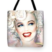 Mmother Of Pearl P Tote Bag