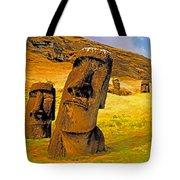 Moai Tote Bag