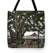 Moana Surfrider Banyan Court - Waikiki Beach Tote Bag