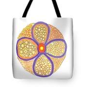 Moasic Flower Tote Bag