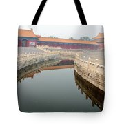 Moat Forbidden City Beijing Tote Bag