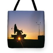 Mobile Radar, White Sands Tote Bag