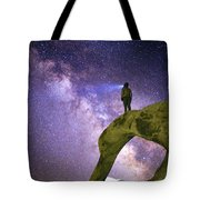Mobius Milky Way Tote Bag