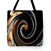 Mocha Swirl Tote Bag