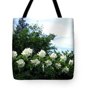 Mock Orange Blossoms Tote Bag