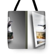 Mockingbird - Gently Cross Your Eyes And Focus On The Middle Image Tote Bag