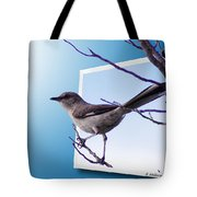 Mockingbird Branch Tote Bag