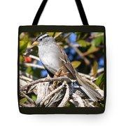 Mockingbird Finally Being Quite Tote Bag