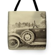 Model A Ford Roadster Tote Bag