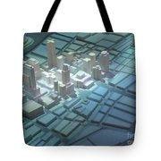 Model City 2 Tote Bag