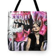 Model Day Of The Dead  Tote Bag