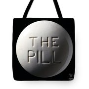 Model Of Contraceptive Pill, C.1970 Tote Bag