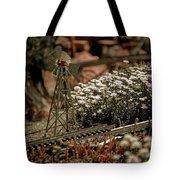 Model Railroad Windmill Tote Bag