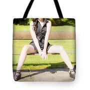 Model Tote Bag