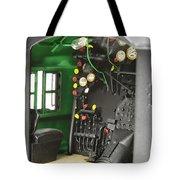 Model Steam Locomotive Tote Bag