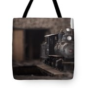 Model Train Tote Bag