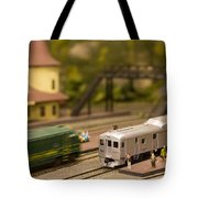 Model Trains Tote Bag