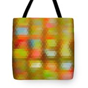 Modern Abstract Mosaic Color Combination 4 Tote Bag