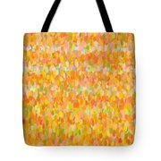 Modern Abstract Pointilist Color Combination 1 Tote Bag