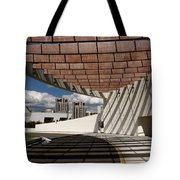 Modern Architecture Of Ismaili Centre Entrance With Aga Khan Mus Tote Bag