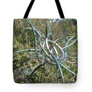 Modern Art Displayed Tote Bag