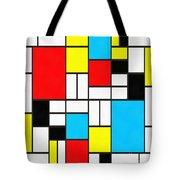 Modern Art Square Tote Bag