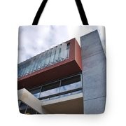 Modern Building Architecture Angles Tote Bag