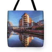 Modern Canal Living Tote Bag