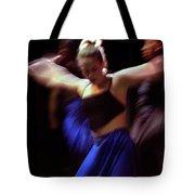 Modern Dance Motion Tote Bag