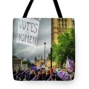 Modern Day Suffrage Tote Bag