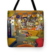 Modern Deco Furniture Store Interior Tote Bag