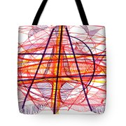 Modern Drawing Eighty-five Tote Bag