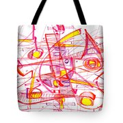 Modern Drawing Eighty-three Tote Bag