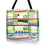 Modern Drawing Fifteen Tote Bag