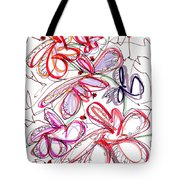 Modern Drawing Fifty-eight Tote Bag