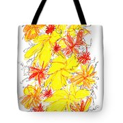 Modern Drawing Fifty-five Tote Bag