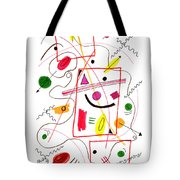 Modern Drawing Fifty-six Tote Bag