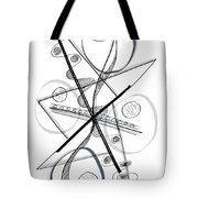 Modern Drawing Forty-eight Tote Bag