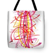 Modern Drawing Forty-five Tote Bag