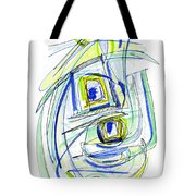 Modern Drawing Forty Tote Bag