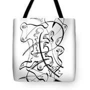 Modern Drawing Forty-seven Tote Bag